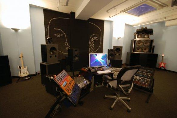 Danny Tenaglia's Home Studio